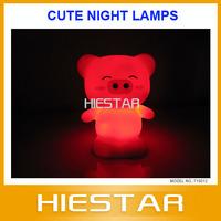 New Novelty item cute night lamp Pig night light
