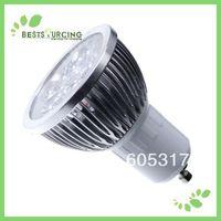 110-240V 6W GU10 Day White Spot Light High-energy High-brightness save LED Bulbs/Lamps  4 pcs/lot