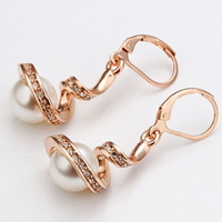 $ 10 European and American fashion jewelry wholesale trade from selling popular luxury pearl earrings Ruili