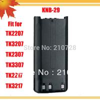 10pcs/lot FM transceiver battery KNB 29N NI-MH 1500MAH for Radio FM TK-2217 two way radio TK-2207 interphone TK 3207 intercom