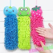 1 Pcs microfibra absorvente dos desenhos animados Mão Clearing toalha seca linda toalha de rosto animal para Cozinha Casa de banho Escritório Car Use(China (Mainland))