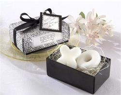 2013 Free shipping Fashion Romantic wedding giving gift Personality creative toilet soap for wedding CB-048(China (Mainland))