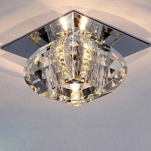 New Modern Crystal LED Ceiling Light Hallway Lights