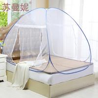 Encryption mosquito net yurt mosquito net stainless steel folding mosquito net automatic mosquito net