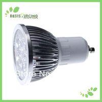2 pcs/lot  GU10 6W warm white light bulbs  110-240v free shipping