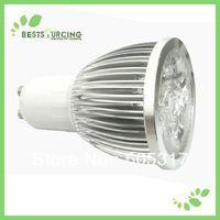 2 pcs/lot GU10 8W LED Spot Light Day White warm white Bulbs