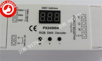 DMX512 constant voltage decoder driver (RJ45 connectors) PX24500A DMX controller for RGB Ceiling Lamp,Led Strip light,Retail