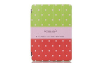 New arrive Love Peter Rabbit  Holster + Hard back case for ipad 2/3/4  Red color
