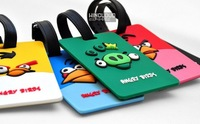 $ 100% Brand New! 5pcs/lot Soft PVC 3D Luggage Tag,Travel Tag