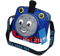 Free Shipping Cartoon Design Train Pattern Tomas Kindgarten boy  Kids Messenger Bag/SCHOOL BAG ASSORTED  For Child Gift