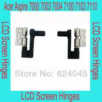 free shipping. New LCD screen hinges for Acer Aspire 7000 7003 7100 7103 7110, Left and right per pair