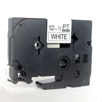 Office use TZ-231 12mm Compatible P-touch TZ Tapes Label tapes black on white 12mm tape