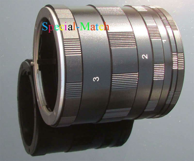 New 3 Ring Macro Extension Tube for CANON 1000D 500D 450D 400D 350D 40D 1D DSLR(China (Mainland))