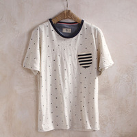 Vintage summer personalized t-shirt male short-sleeve chinese style men's clothing short-sleeve clothes