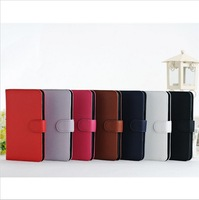 DHL Free Shipping Litchi PU Leather Stand Wallet Leather Cover Case For Samsung Galaxy note 2 N7100 Leather Case 30Pcs/lot