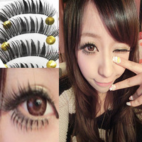 Transparent false eyelashes false eyelashes in the thick long 770 10 lips