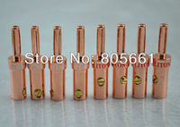 Hi End Audio Pure Red Copper Banana speaker connector Speaker Banana plug