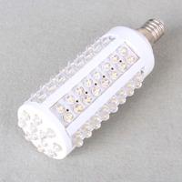 50pcs/Lot 108 LED E27 5W White Corn Energy Saving Light Bulb 400 Lumen spotlight