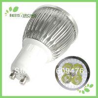 LED Wholesalers Gu10 8w LED Spot Light Bulb day white, Warm White,free shipping 2 pcs/lot