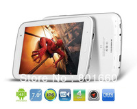 T7 Quad Core Tablet PC 7 Inch Android 4.0 8GB GPS White