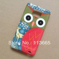 free shipping cartoon owl case for Samsung Galaxy S2 i9100 #001