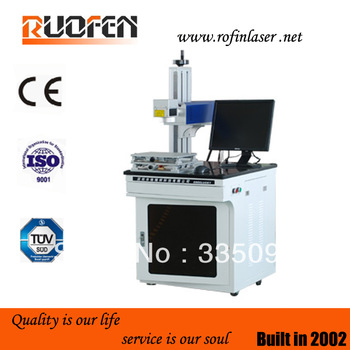 fiber laser marking machine with automatic up-down lift