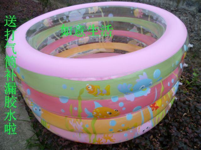 0528 baby very small inflatable bathtubs plastic portable bath tubs Baby child pool bathing bucket tub pool paddling pool(China (Mainland))