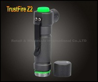 1PC TrustFire Z2 CREE R5 LED Flashlight 5 Modes 400 Lumens White Light Mini Torch By 1*14500 Rechargeable Battery