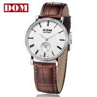 Fine Men's Wrist Watch Quartz Hours Best Fashion Simple Genuine Leather 200 meters Water Resistant Business Diver M-253L