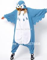 1 pcs owl cartoon sleepwear Performance Pajamas Animal halloween OWL Cosplay Costume Fleece