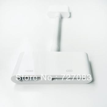 For  APPLE IPAD 1 IPHONE4 4S IPAD 2 DIGITAL AV audio video HDMI ADAPTER 1080P