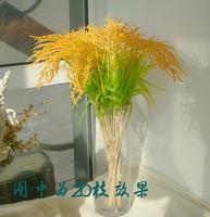 FreeShiping Artificial flower artificial flower silk flower plastic flower rustic decoration  --dd