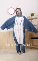 1 pcs New   Animal Fleece Lovely OWL Pyjamas Sleepsuit sleepwear Underwear Onesie