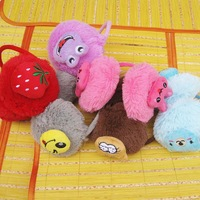 Hot-selling winter earmuffs cartoon child plush earmuffs ear protector e067