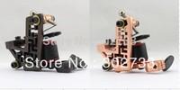 free shipping 2pcs Custom Pro Top Carbon Steel 10 Wrap Coils Tattoo Machine Gun Supply -tattoo machine good quality