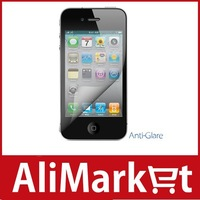 Frosted Front Screen Protector with cleaning cloth for iPod Touch 4(Transparent)