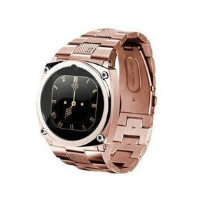 2013 pardew ultra-thin tw818 personality smart watch mobile phone miniature full metal touch screen mobile phone(China (Mainland))