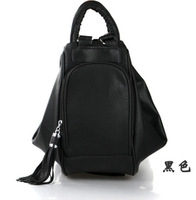 2013 spring sweet PU backpack travel bag backpack female fashion casual women's handbag