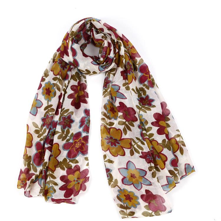 Free Shipping ! Ladies Polyester Printing Fashion Scarf(China (Mainland))