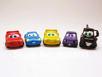 10 pcs Cars Charm Pendant Figurine DIY Accessories ACA916