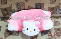 Hello kitty Pillow Cushion Plush Toy Dolls Free Shipping EMS 30pcs/Lot Wholesale