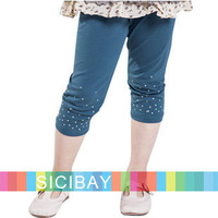 Free Shipping Fashion Slim Leggings Little Girl Summer Leggings,3pcs/pack  K0866