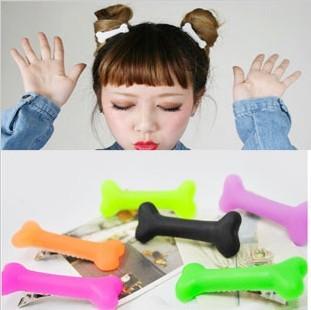 1pair(2pcs)Free Shipping Fashion skeleton hair clip hairpin Zombie Punk Bone hairwear hairpin bobby pins