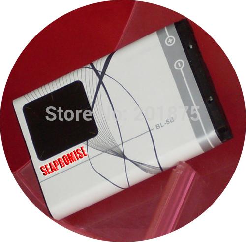 Retail BL-5B BL 5B BL5B battery for NOKIA 3220 3230 5000 5070 5110i 5140 6060 6070 6080 7360 n80 n90(China (Mainland))