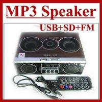 Mini Sound box MP3 player Mobile Speaker boombox FM Radio SD Card reader USB SU12 - Sample