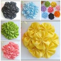 Baby Headbands 3.5inch  Satin flower Baby Girls Headbands Accessories.30pcs/lot