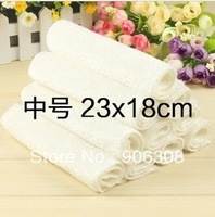 Wholesale 50pcs/lot high efficient ANTI-GREASY dish cloth,bamboo fiber washing cleaning magic multi-fuction wipping rag