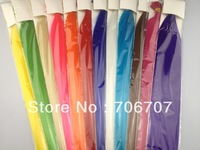 """1000pcs/lot free shipping 12 colors 16 inch 16"""" Grizzly Synthetic solid color Feather Hair Extension for beautiful girls"""