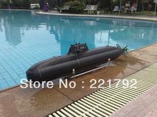 remote control submarine / Model 1/48 2.4GHz German 212A type U31 / large boat submarine(China (Mainland))