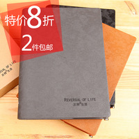 The appendtiff stationery leather loose-leaf 25k a5 notepad the schedule tsmip